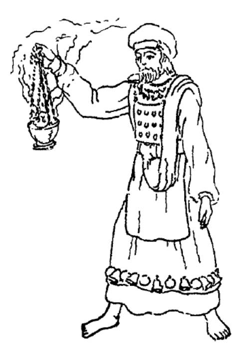 high priest coloring pages - photo#2