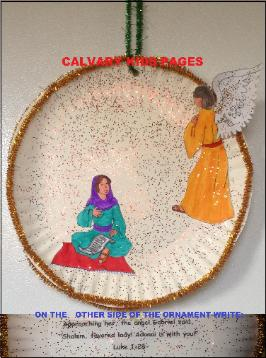 Mary Receives A Visit From Angel Gabriel