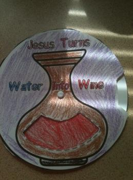 Jesus Turms Water Into Wine